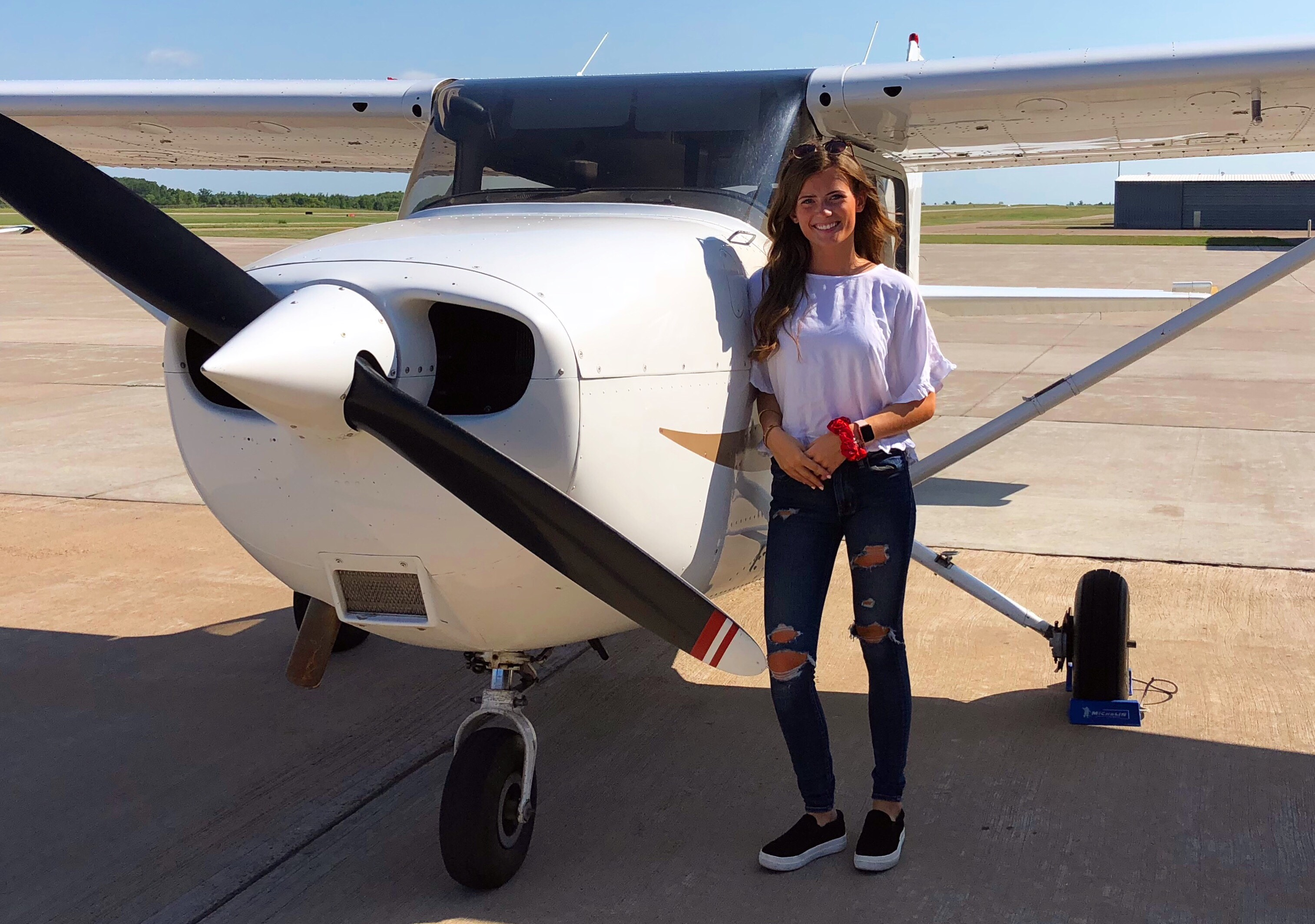 Rebecca Bell, UW-Madison, Women in Aviation Scholar 2019