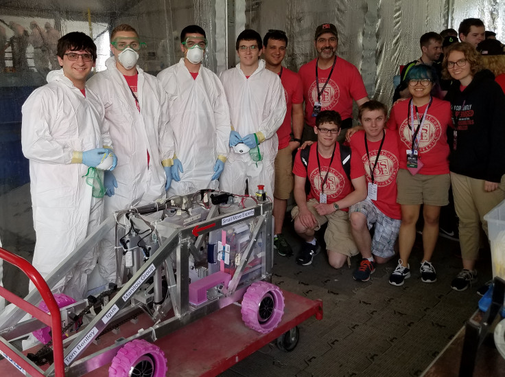 NASA Robotic Mining Competition, Milwaukee School of Engineering