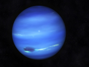 Neptune is located nearly 4.5 billion kilometers from the sun, allowing it to orbit the sun once ...
