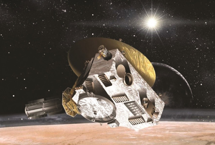 New Horizons is a spacecraft that looks at Pluto's atmosphere and takes pictures of its surface